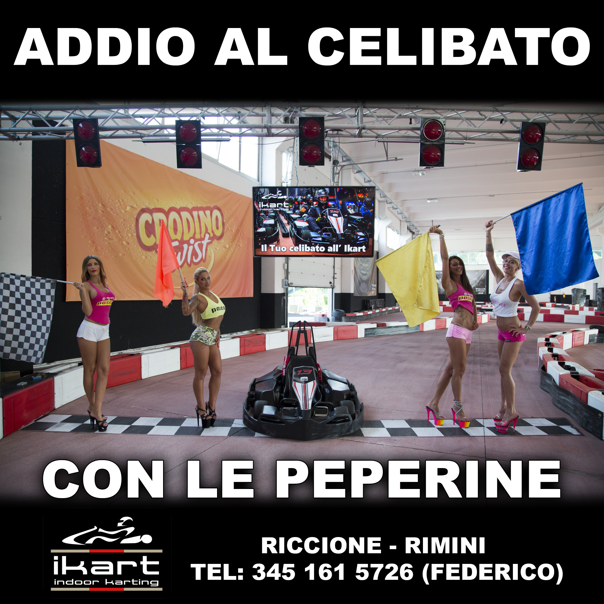Addio al celibato in go kart con le peperine del pepenero for Cabina di addio al celibato