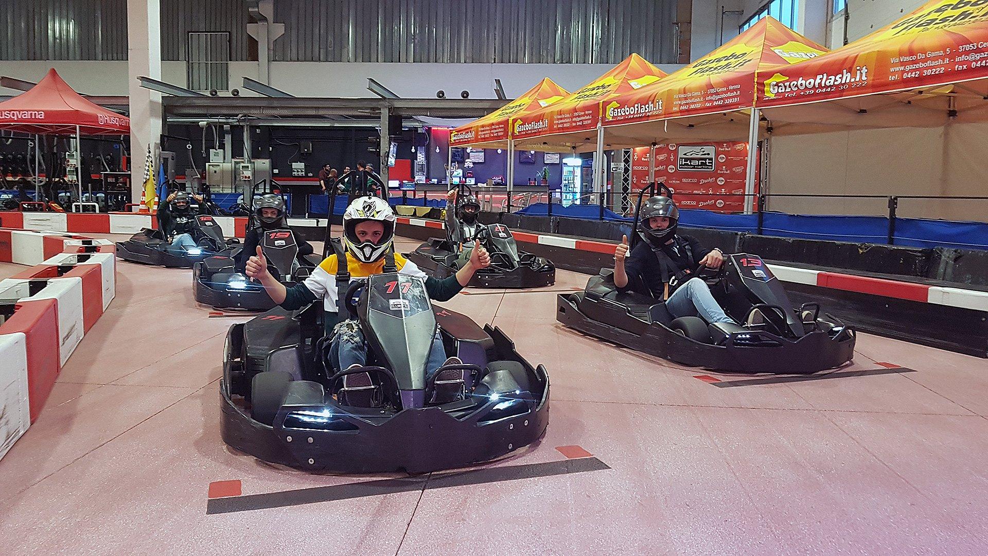 Ikart è la pista go kart indoor a Riccione