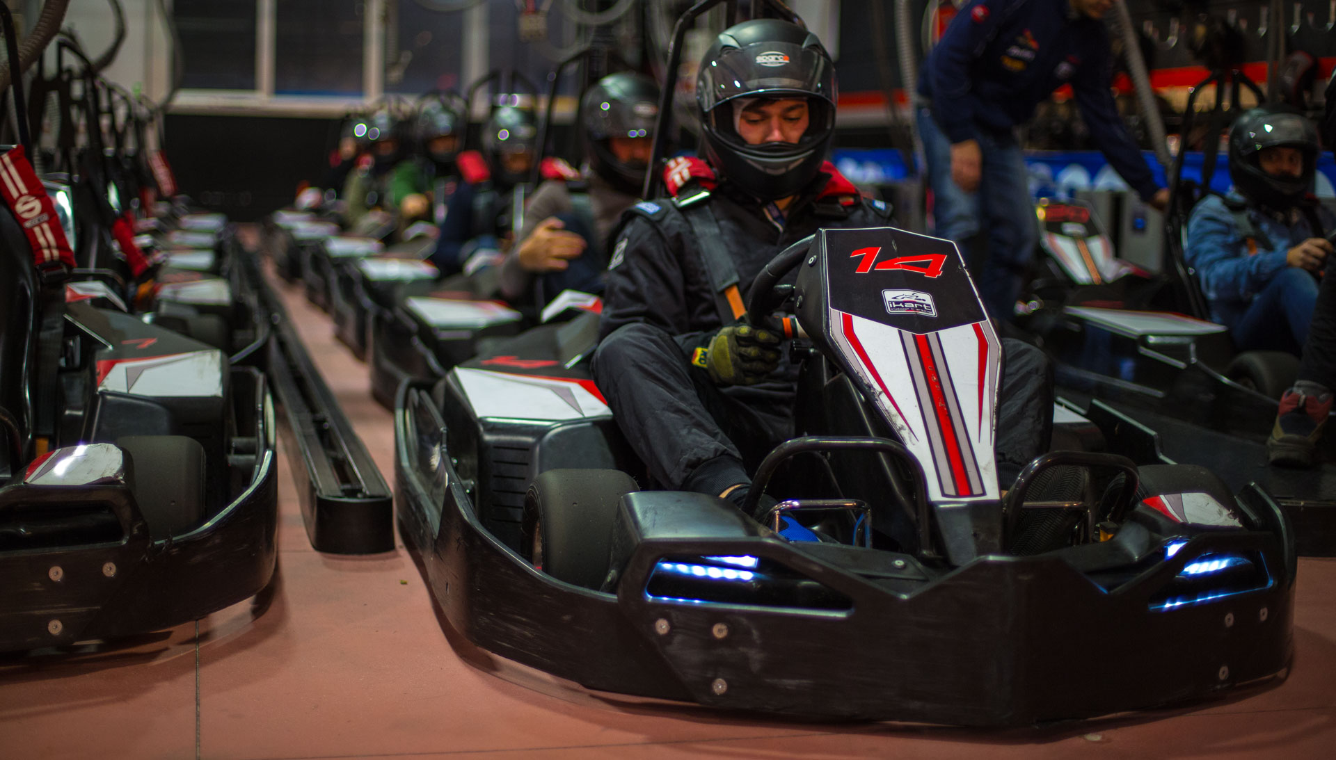 Ikart è la pista indoor a Riccione